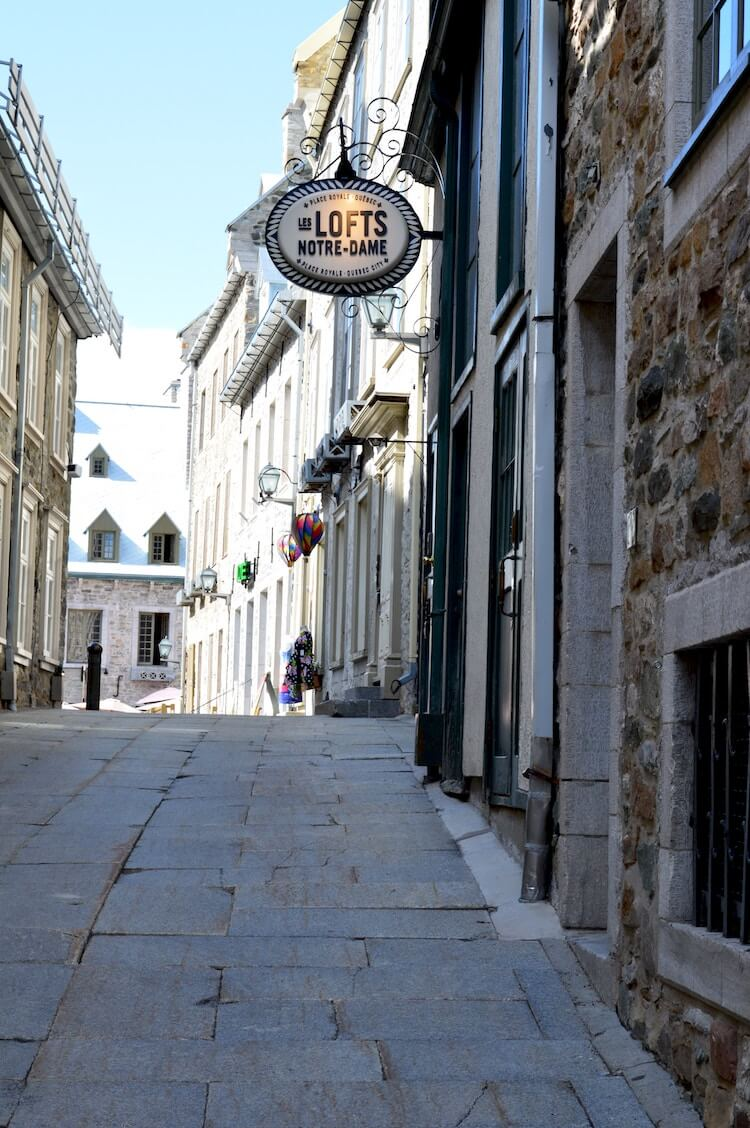 Petit champlain, Quebec city, Canada | 2 days in Quebec City itinerary