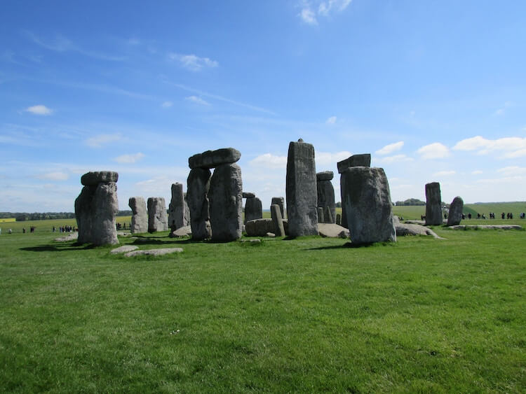 Stonehenge during the day