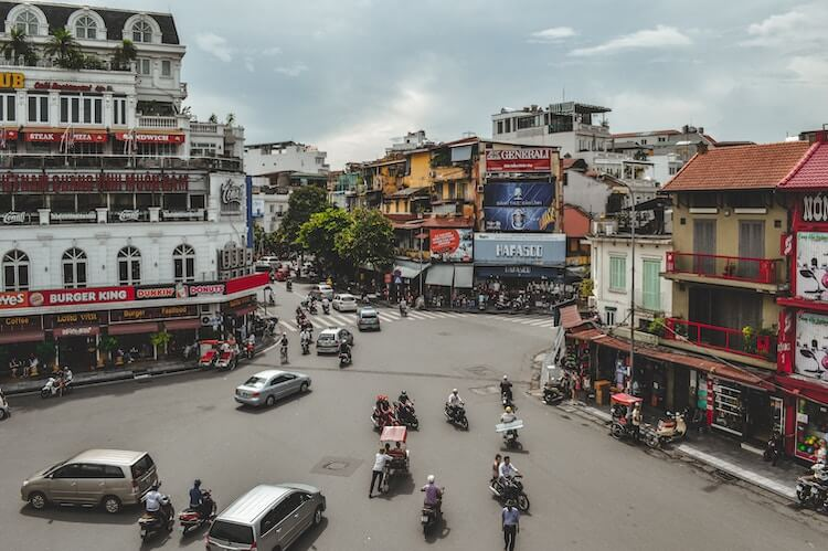 One day in Hanoi to explore the streets with motorbikes
