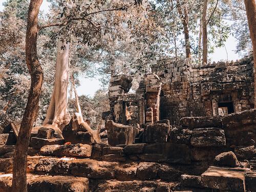 Ta Nei outside of temple complex: Siem Reap in 2 Days
