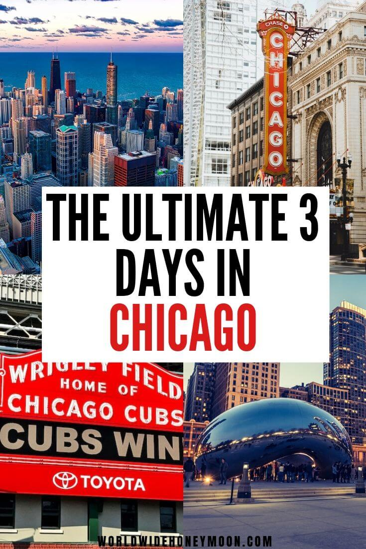 3 Days in Chicago | Things to do in Chicago | Chicago Things to do in Winter | Chicago Photography | Chicago Travel Guide | Where to Eat in Chicago | Places to Visit in Chicago | Chicago Itinerary | Chicago Neighborhoods | Chicago Activities | Chicago Attractions #chicago #chicagoil #usatravel #travelitinerary