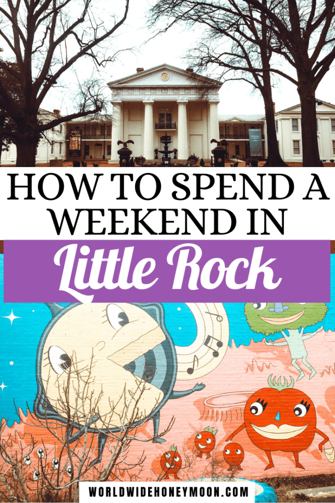 This is the perfect weekend in Little Rock itinerary | Things to do in Little Rock Arkansas | Little Rock Arkansas Restaurants | Little Rock Arkansas Travel | Little Rock Weekend | Little Rock Arkansas Hotels | Little Rock Vacation | Little Rock Arkansas Vacation | Little Rock Trip | Little Rock Arkansas Places to Visit | Things to do in Little Rock Arkansas Bucket Lists | US Destinations