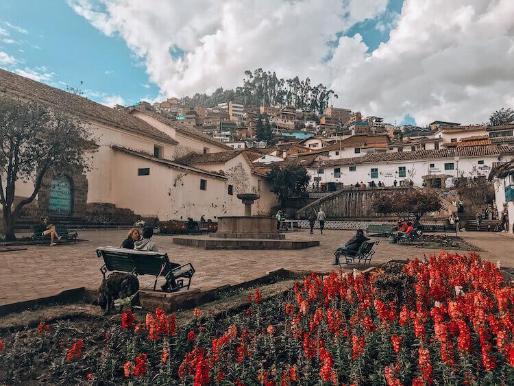 San Blas sqaure in Cusco, Peru - 10-day Peru itinerary
