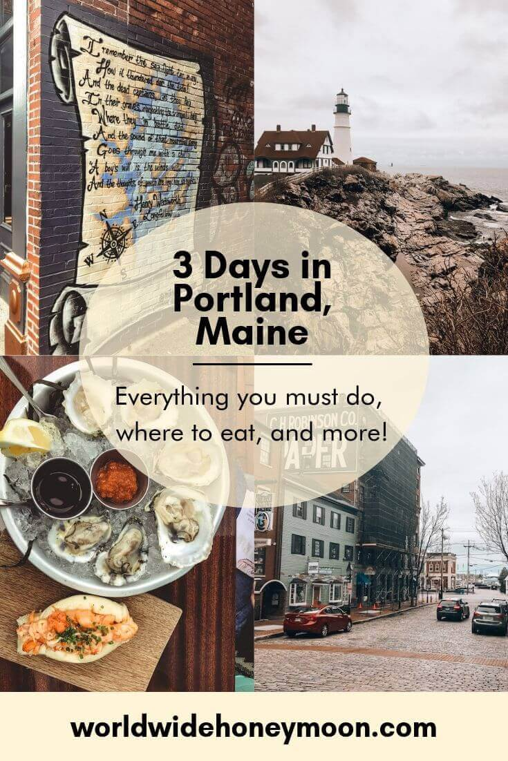 3 Days in Portland, Maine - Everything You Must do, where to eat, and more!