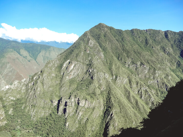 Andes Mountains at Machu Picchu