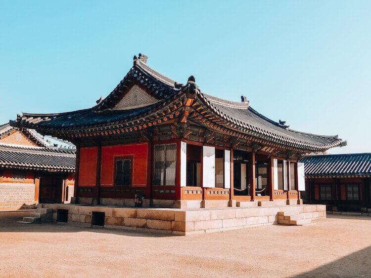 Gyeongbokgung Palace smaller buildings