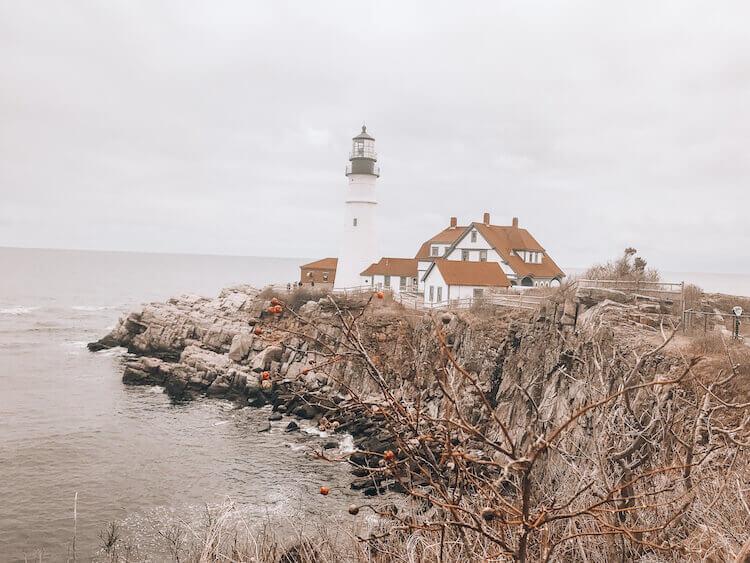 Portland Head Lighthouse in Portland Maine - 3 Days in Portland Maine