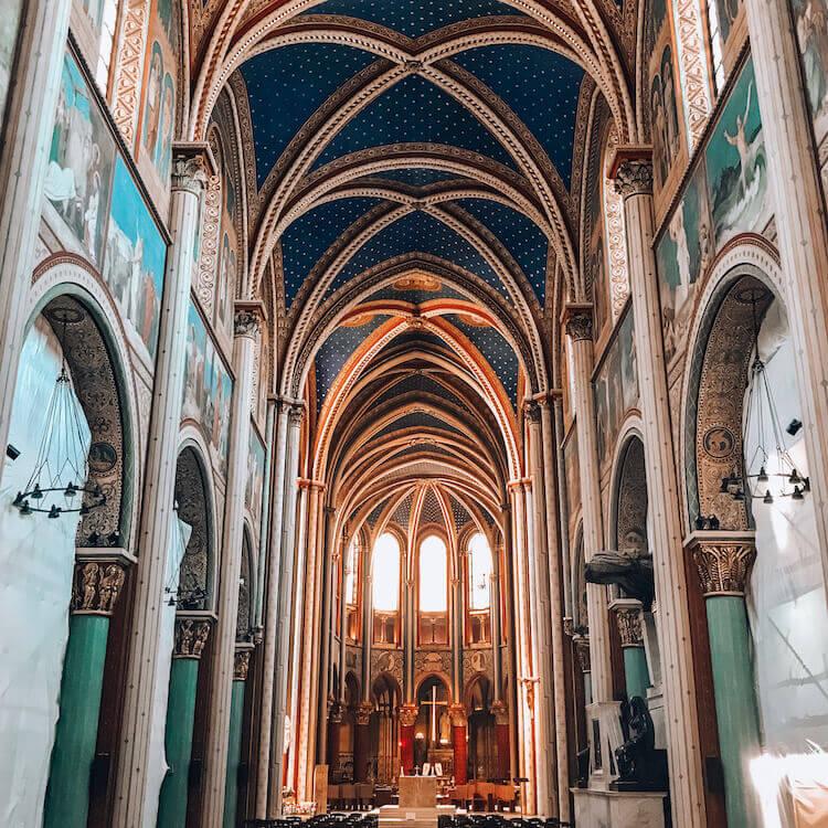 Abbey Saint Germain in Paris, France