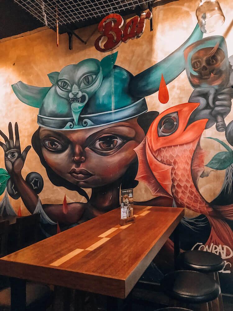 Barbarian Brewery in Lima, Peru