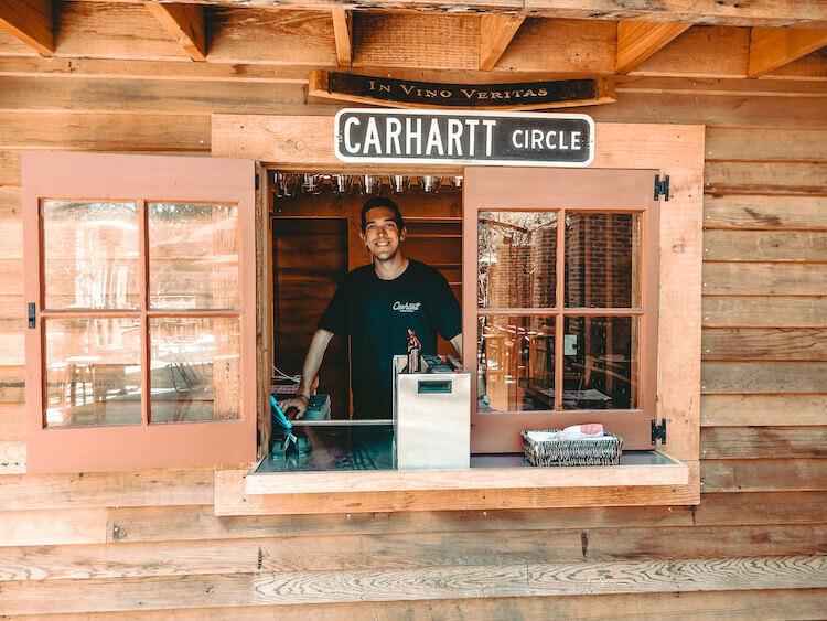 Carhartt Vineyard in Los Olivos, California