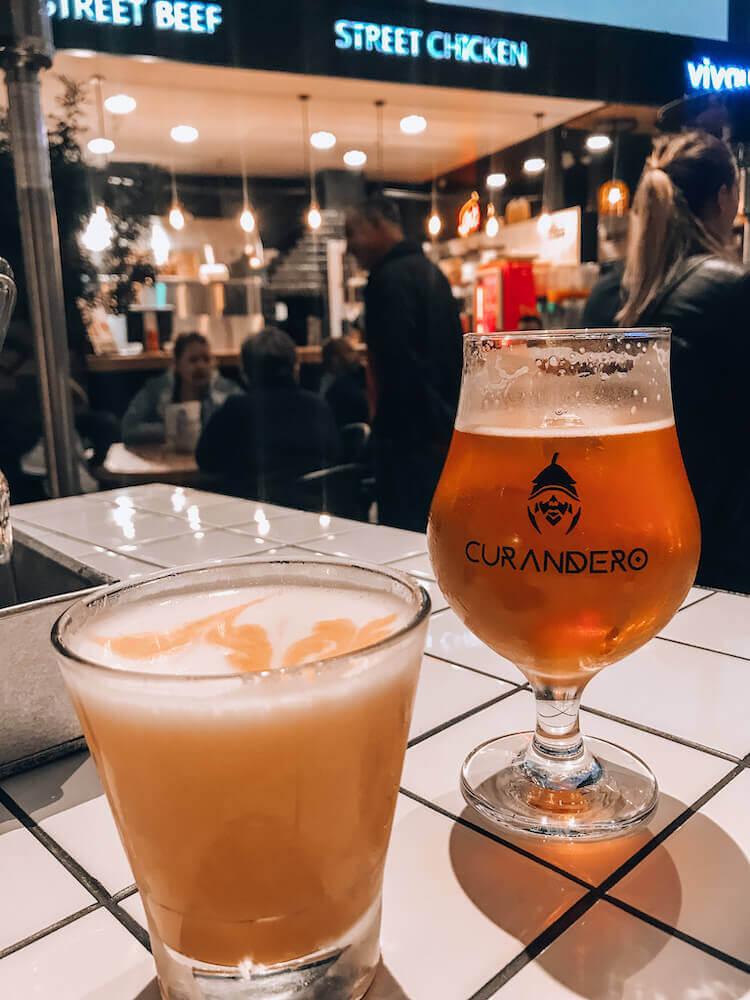 Drinks at Mercado 28