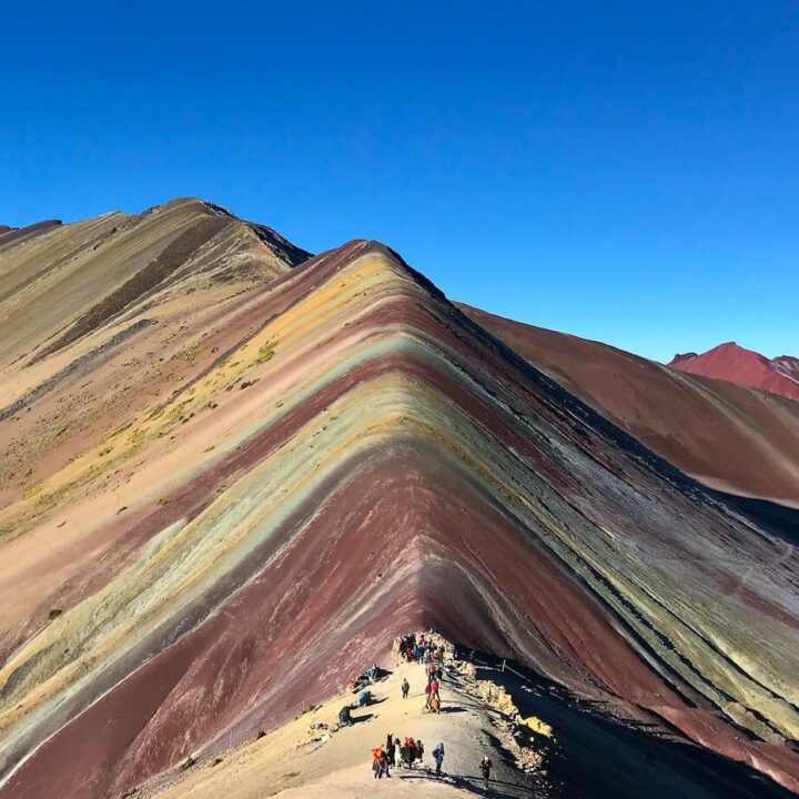 Rainbow Mountain trek in Peru