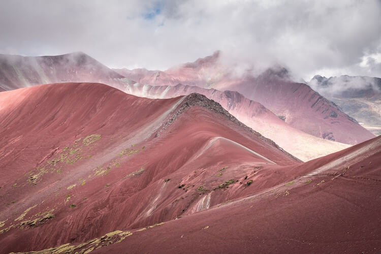 Red Valley in Peru