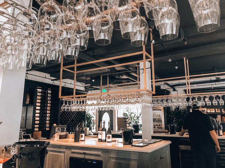 Tasting Room at Sanger Family of Wines