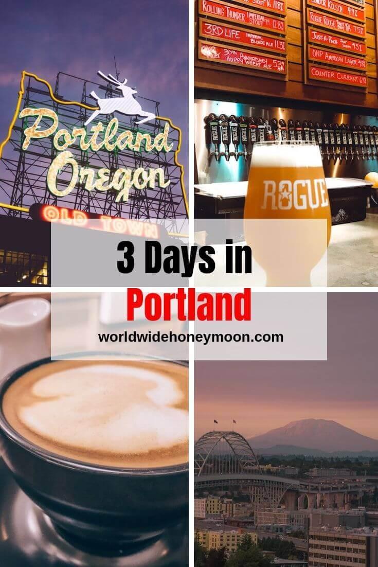3 Days in Portland
