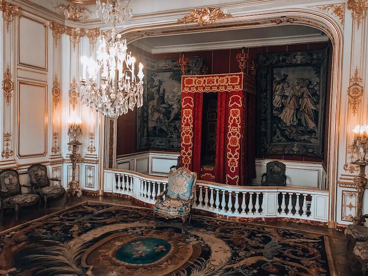 Inside of Chateau de Chambord