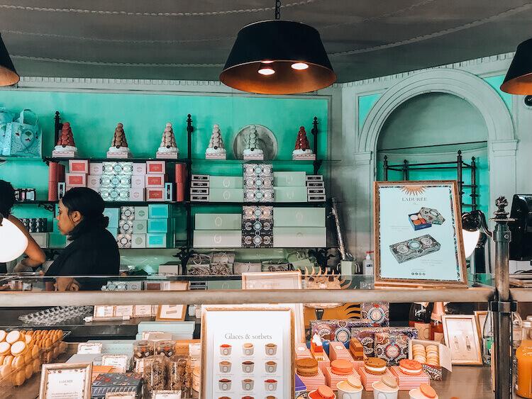 Laduree pastry shop- Paris Bucket List