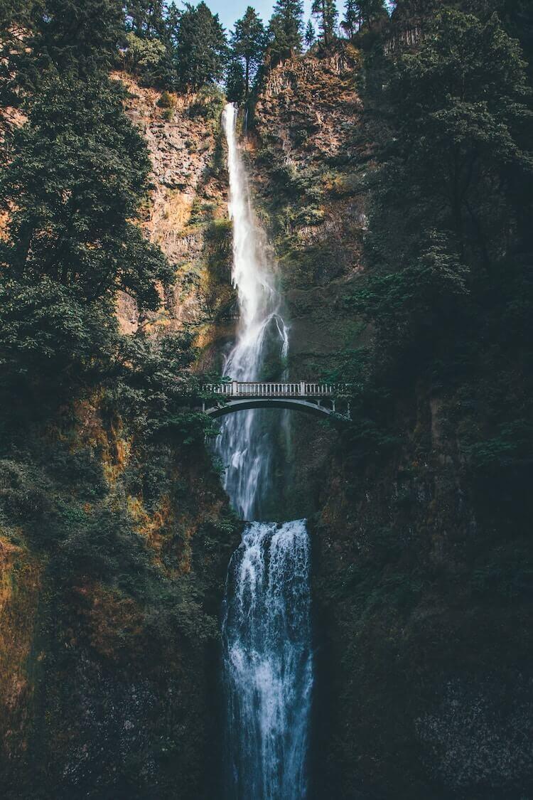 Multnomah Falls, United States, Portland, Oregon