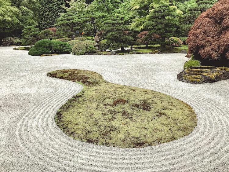 Rock Garden at Portland Japanese Garden
