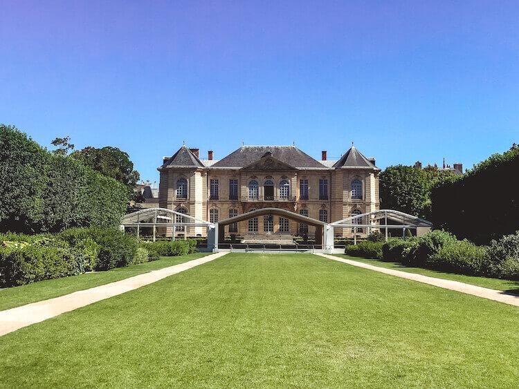 Rodin Museum in Paris, France