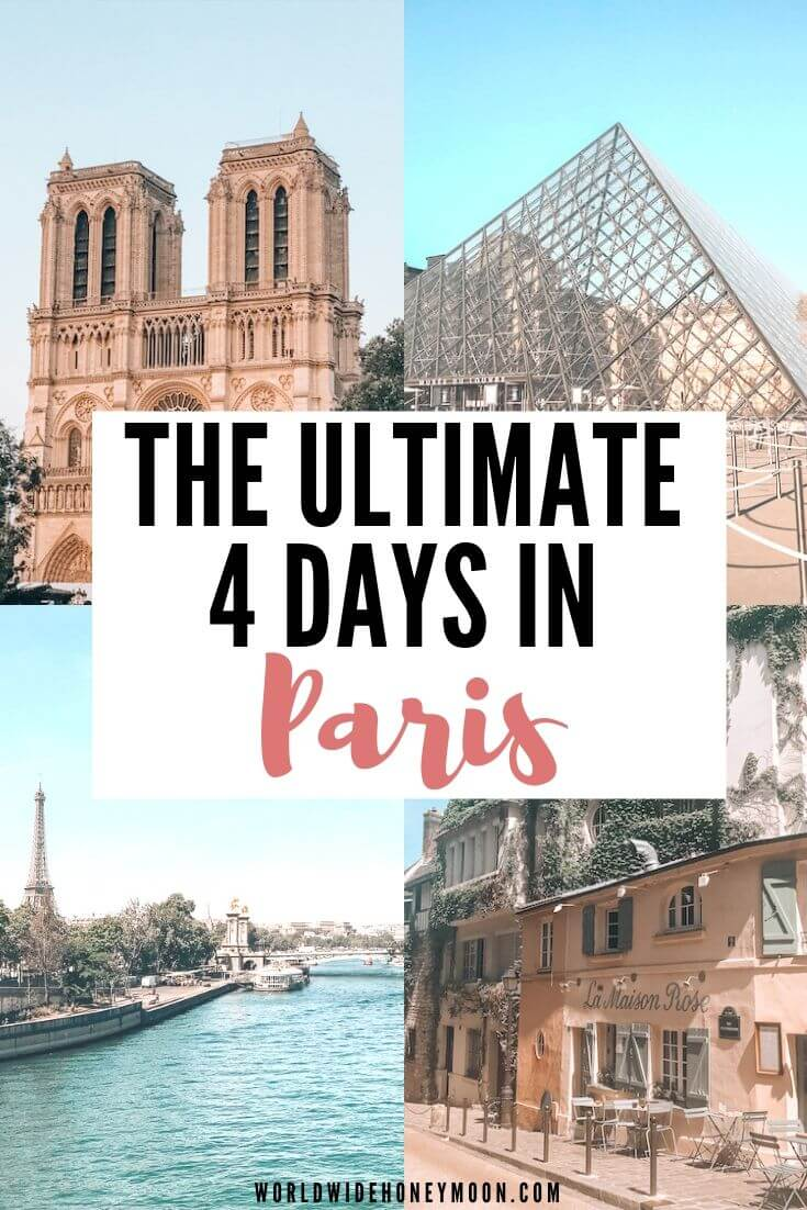 4 Days In Paris An Insider S Guide World Wide Honeymoon