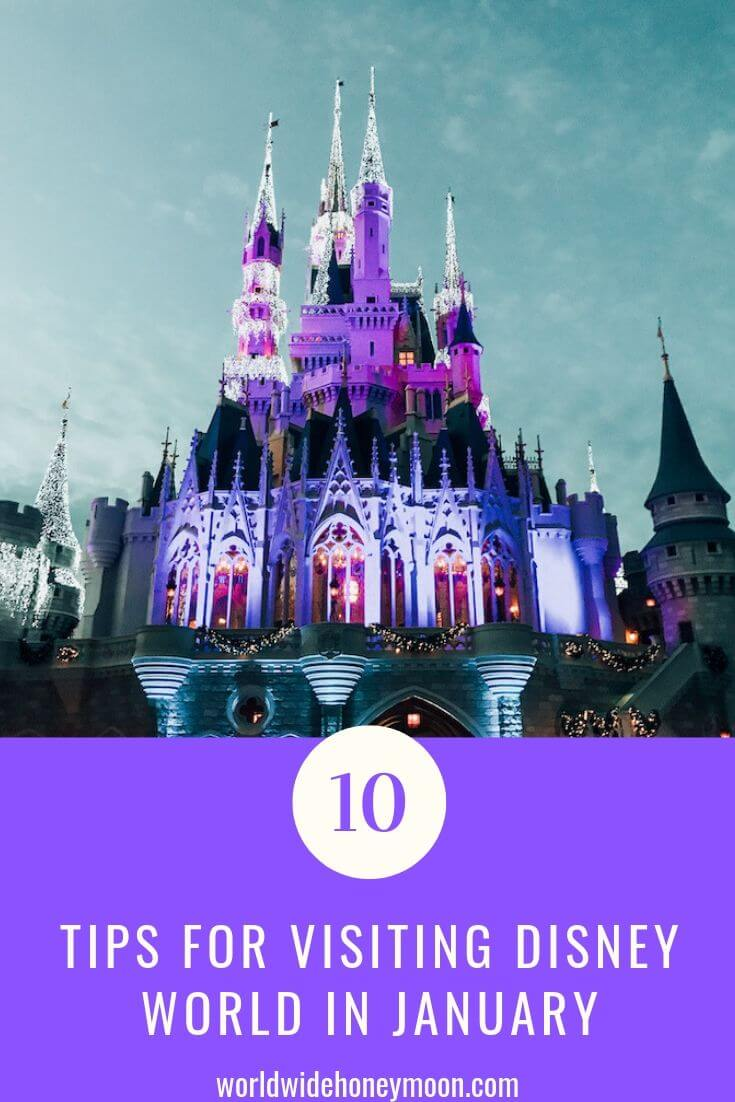 10 Tips for visiting Disney World in January