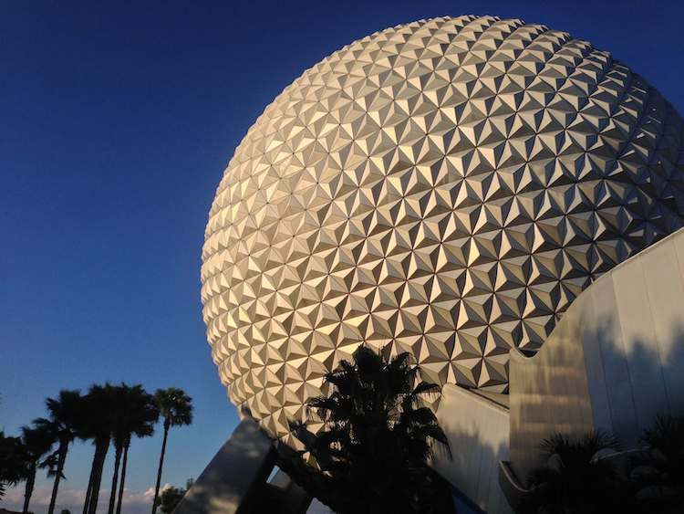 Epcot Ball at Disney World copy