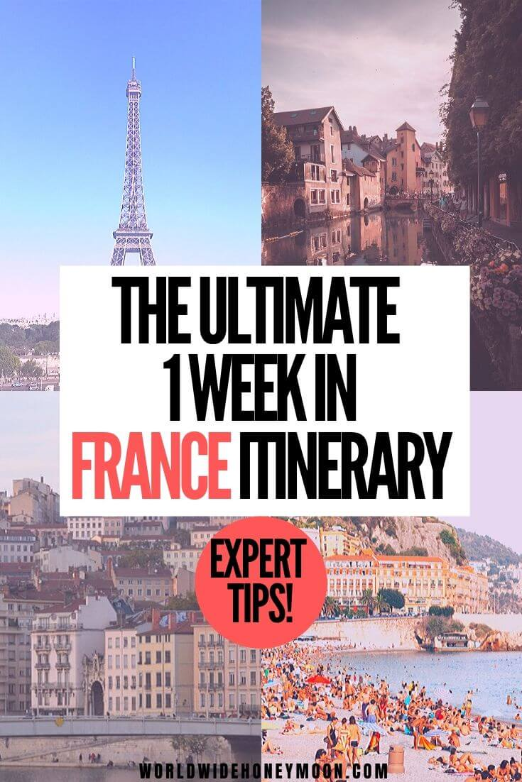 France Travel | France Photography | France Countryside | France Itinerary One Week | France Itinerary 10 Days | France Itinerary 7 Days | 7 Days in France | 7 Days in France Itinerary #france #francetravel #lyon #paristravel #nicetravel #annecy #franceitinerary