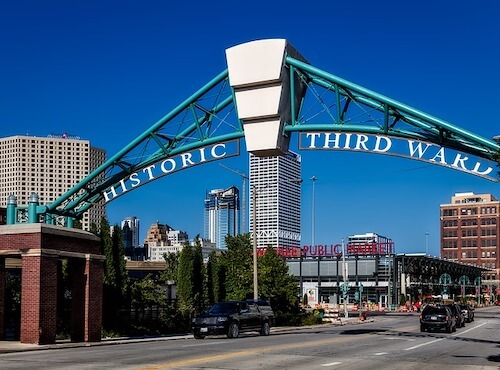 Historic Third Ward during the day