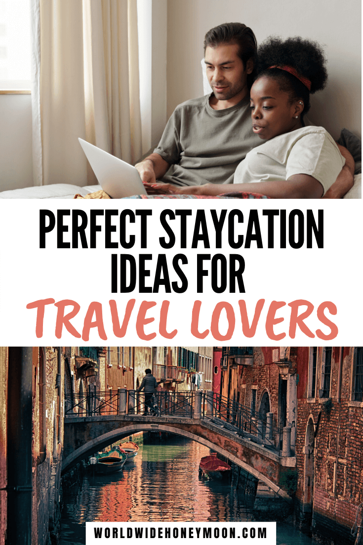 Staycation Ideas | Staycation Ideas for Couples | Staycations | Travel While at Home | Can't Wait to Travel | Staycation Ideas for Couples at Home | Can't Afford to Travel | Can't Travel | Date Night Ideas | Date Night Dinner Recipes | Date Night Ideas at Home | Quarantine Activities | Date Night Themes Couples #staycation #staycationideas #travelathome #travelideas
