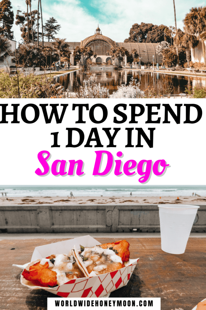 1 Day in San Diego