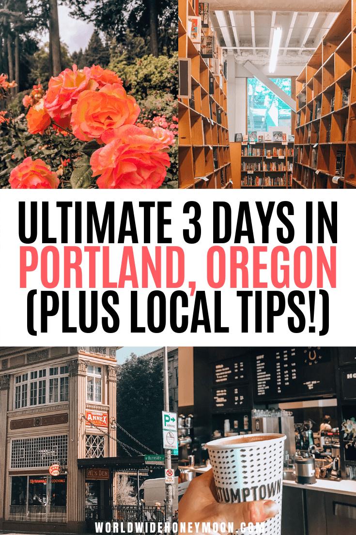 Things to do in Portland Oregon | Portland Oregon Itinerary | 3 Days in Portland Oregon | Portland 3 Days | Weekend in Portland | Portland Oregon Food | Portland Hotels | Portland Day Trips | Travel to Portland, Oregon#portlandoregon#portlandtravel#pacificnorthwest#usatravel#couplestravel