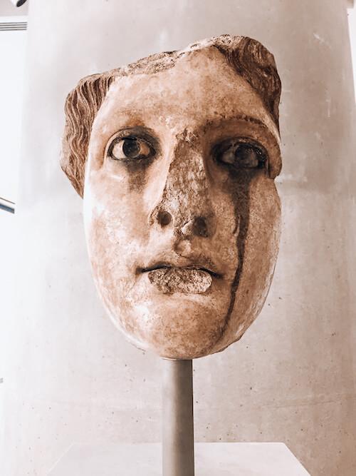 Acropolis Museum figure