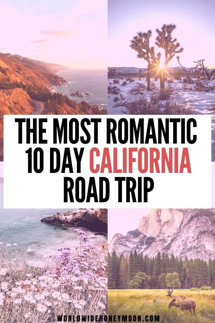 California Travel | California Honeymoon | California Honeymoon Ideas | California Honeymoon Destinations | | California Road Trip | California Road Trip Itinerary | California Road Trip Ideas | 10 Days in California | California Itinerary 10 Days | California Road Trip 10 Days | California Travel 10 Days | 10 Days in California Packing #californiatravel #californiausa #couplestravel #calitravel