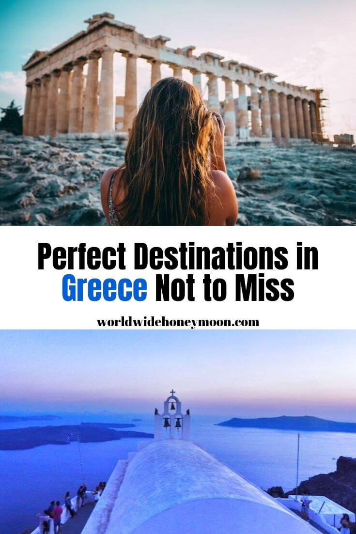 Perfect Destinations in Greece Not to Miss- Greece Itinerary in 7 Days