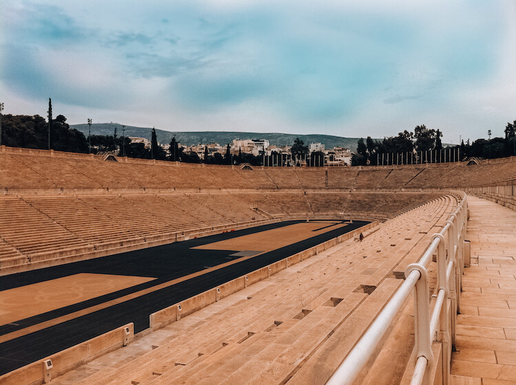 The Olympic Stadium in Athens, Greece