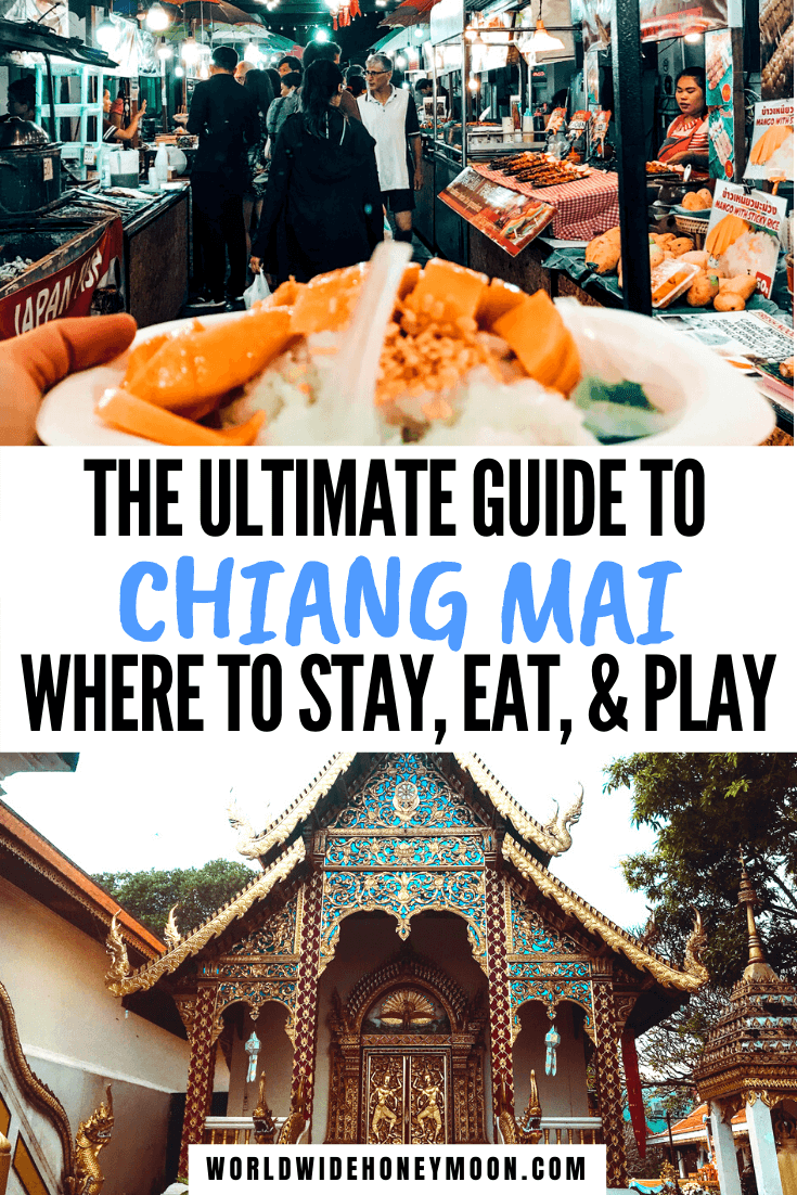 4 Days in Chiang Mai | What to do in Chiang Mai | Chiang Mai in 4 Days | Chiang Mai Thailand | Change Mai Thailand Things to do | Chiang Mai Food | Chiang Mai Thailand Photography | Chiang Mai Travel | Chiang Mai Day Trips #chiangmaithailand #4daysinchiangmai #chiangmai #thailandtravel