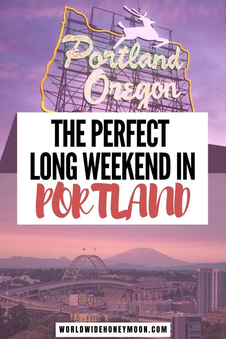 Things to do in Portland Oregon | Portland Oregon Itinerary | 3 Days in Portland Oregon | Portland 3 Days | Weekend in Portland | Portland Oregon Food | Portland Hotels | Portland Day Trips #portlandoregon #portlandtravel #pacificnorthwest #usatravel #couplestravel