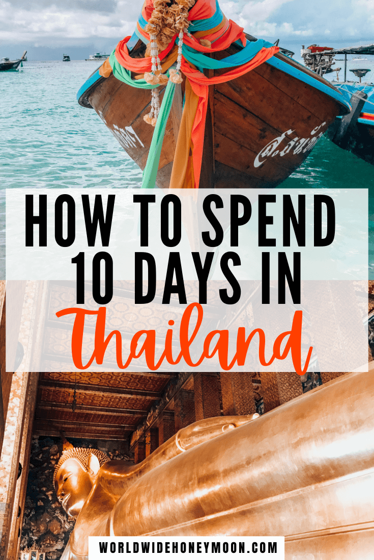 This is the best 10 Day Thailand Itinerary | Thailand in 10 Days | Thailand Trip | Thailand 10 Day Itinerary | Things to do in Thailand | Places to Visit in Thailand | Best Thailand Islands | Best Beaches in Thailand | 10 Days in Thailand Itinerary | 10 Days in Thailand Packing List | Thailand Travel Tips | Thailand Travel Destinations | Thailand Honeymoon Itinerary | Asia Destinations | Honeymoon in Thailand