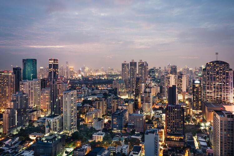 Bangkok City Skyscrappers