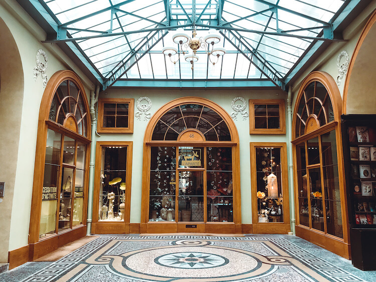 Beautiful covered market- Trip to Paris Budget