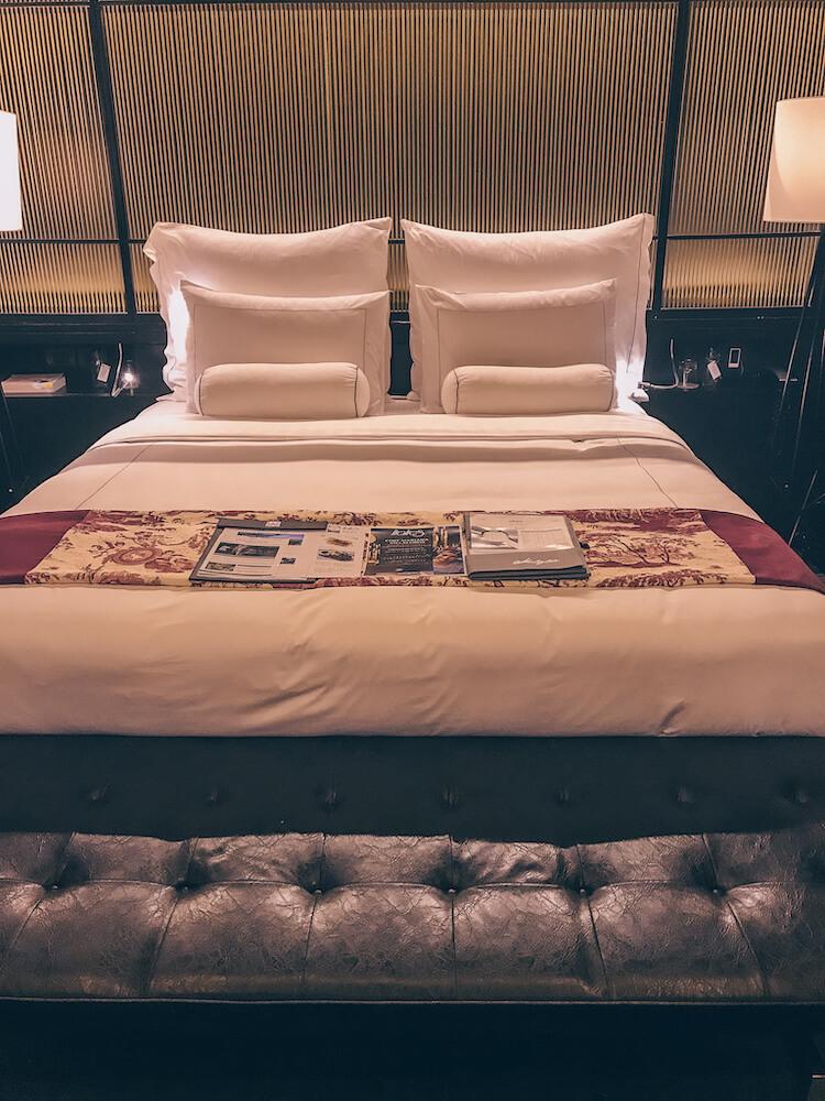 Bed at Akrya Manor chiang Mai
