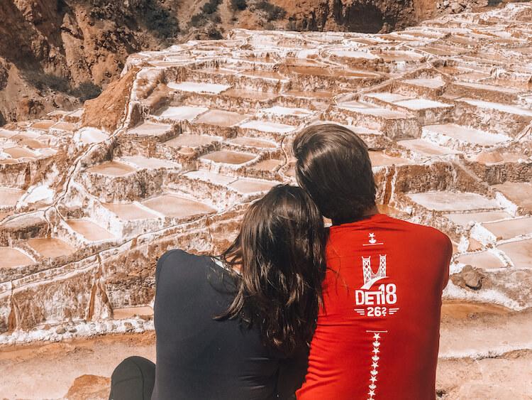 Kat and Chris at Maras Salt Mines