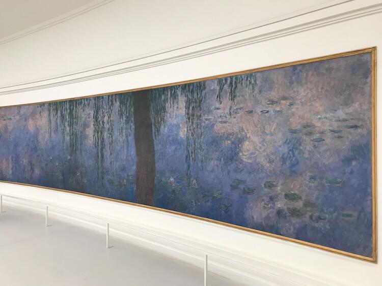 Museum L'Orangerie Monet Painting in Paris