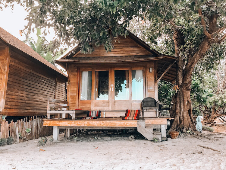 Our villa on Koh Lipe at 10 Moons Lipe during our 10 days in Thailand