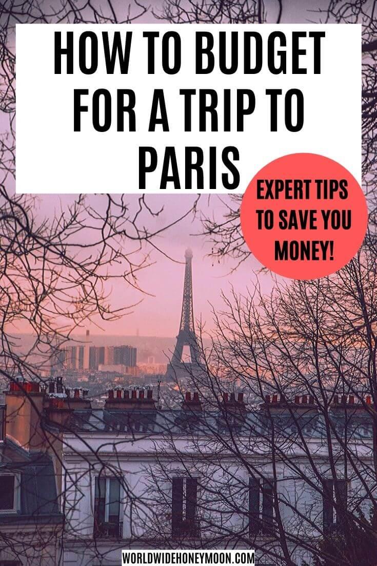 Paris Budget Travel | Trip to Paris Price | Paris Travel Costs | Paris Budget | Paris Budget Hotels | Paris Budget Food | Paris Trip Cost | Cost of Paris Trip | Travel Budget #europeangetaway #paris #budgettravel #parisfrance