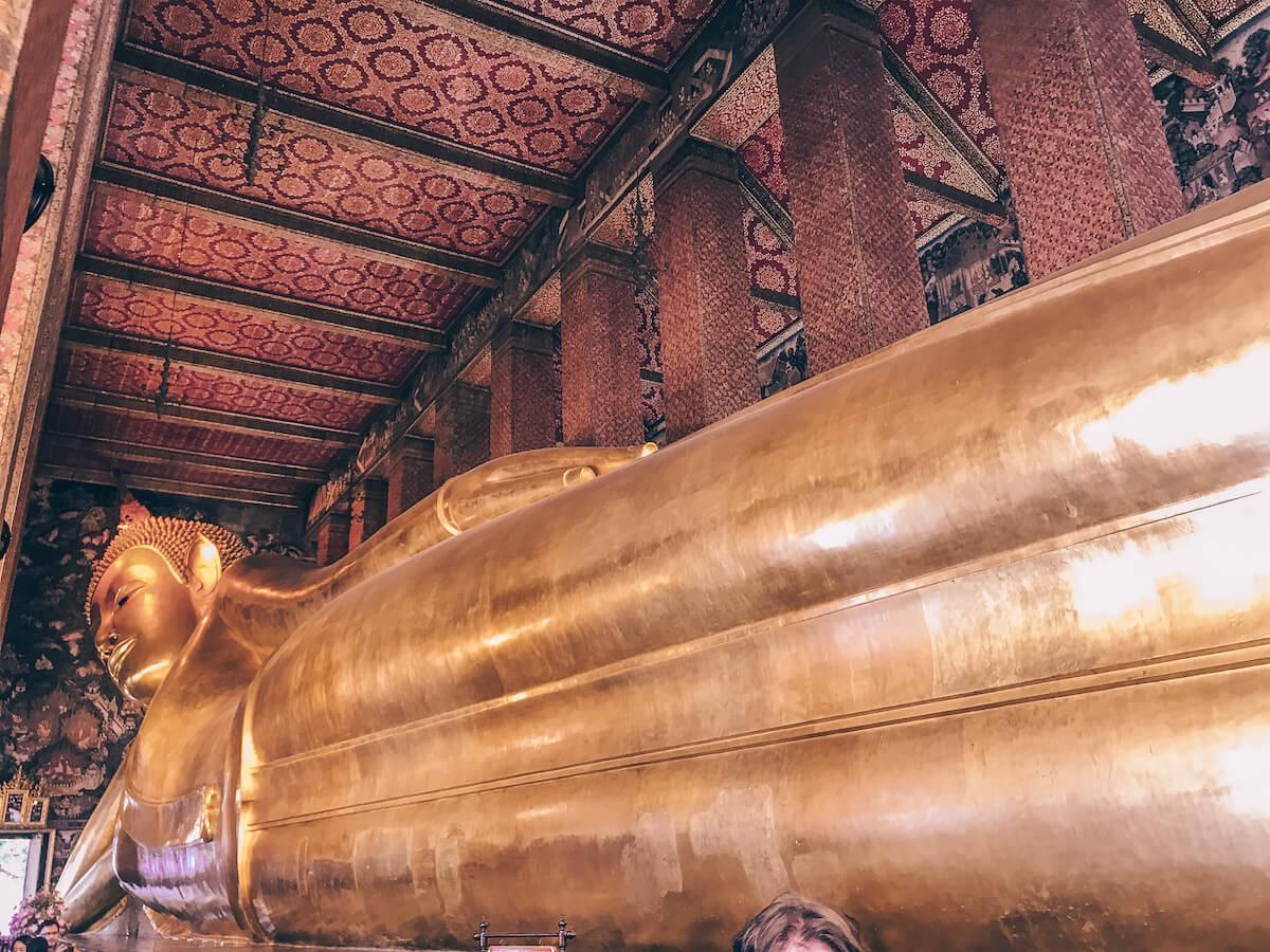 Reclining Buddha in Bangkok, Thailand in 10 Days