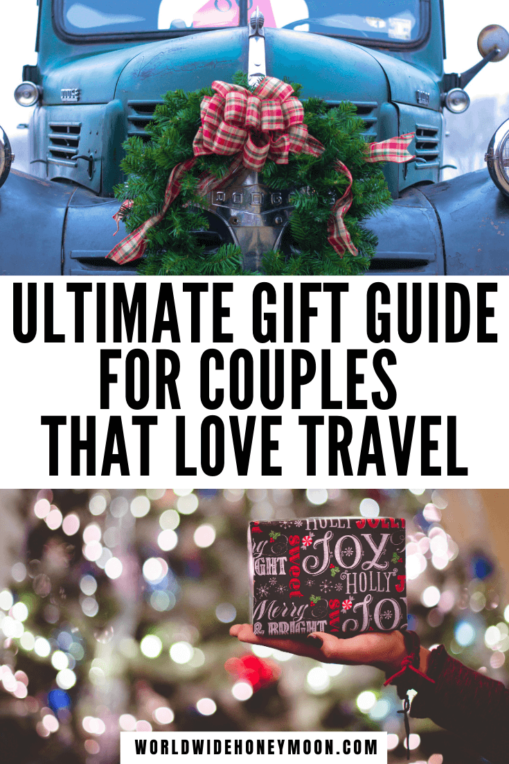 The Ultimate Gift Guide for Couples That Love Travel | Travel Gifts For Couples | Gifts for Couples Who Travel | Gifts for Couples Who Like to Travel | Wedding Gifts for Couples Who Travel | Engagement Gifts for Couples Travel | Gifts for Travel Couple | Couples Travel Gifts | Gift Ideas for Her | Gift Ideas for Him | Gifts for Travelers | Gifts for Travel Lovers | Gifts for Traveling | Travel Gift Ideas