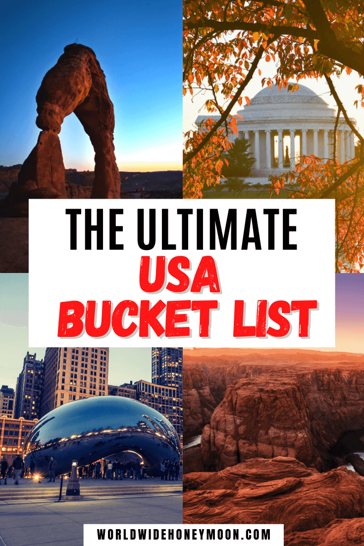 These are hands down the top USA Bucket List Places to Visit | USA Bucket List Destinations | USA Bucket List Challenge | USA Travel Destinations | USA Travel Bucket List | USA Travel Destinations Places to Visit | Top USA Destinations | USA Bucket List Things to do | USA Trip | Travel to America | US Travel | America Bucket List Destinations | America Bucketlist Ideas | America Travel Bucket List | US Destinations | North America Destinations