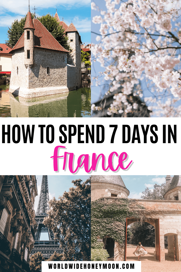 This is the ultimate France Itinerary in One Week | France Itinerary 7 Days | 7 Days in France | 7 Days in France Itinerary | France Travel | France Photography | France Countryside | France Itinerary 7 Days | Week in France Itinerary | One Week in France | Honeymoon in Europe | Europe Destinations